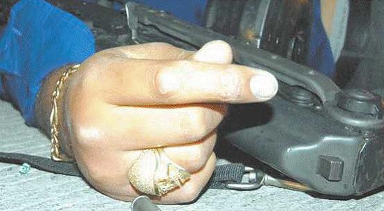 anillo de un sicario